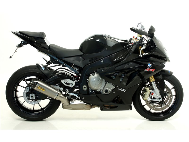 Race-Tech Titanium Approved silencer for stock collectors BMW S 1000 RR 2012-2014
