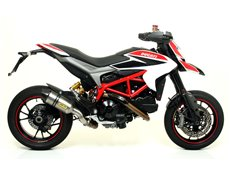 Race-Tech carby silencer with carby end cap Ducati HYPERMOTARD / HYPERSTRADA 2013-2015
