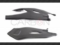 Carbon fiber swingarm protector Yamaha 2015-2016