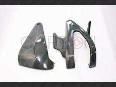 Carbon fiber swingarm protector Buell Xjb