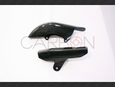 Carbon fiber two pieces chain guard Ducati Monster S2r - S4r