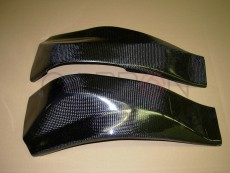 carbon fiber frame cover Kawasaki ZX-6R - RR 2003-2004