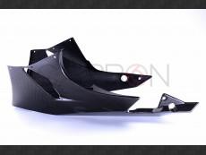 Carbon fiber racing belly pan Kawasaki ZX-6R - RR 2009-2015