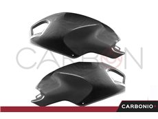 Carbon tank side covers for Ducati Monster 696-796-1100-1100 s