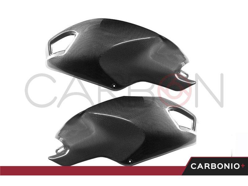 Motorrad-Motorsport DUCATI Monstar 696 CARBONIO COPERCHIO FRIZIONE COPERCHIO MOTORE COVER CARBONO CARBONE Auto & Motorrad: Teile