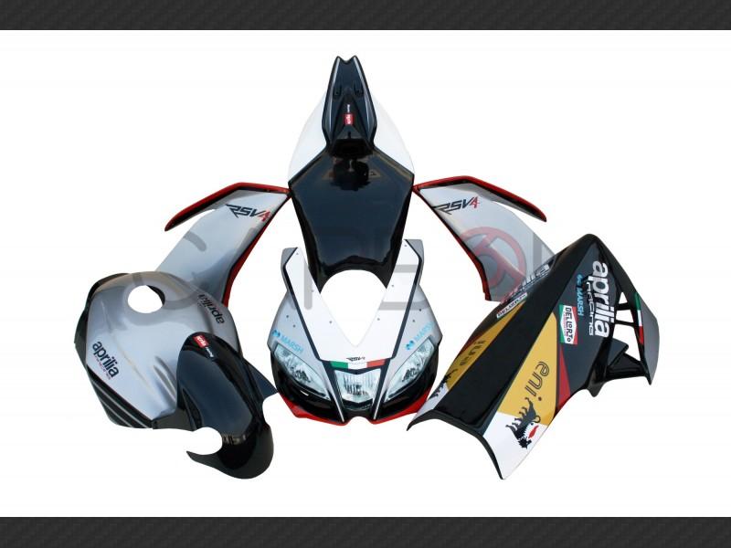 Complete fairing kit Replica Sbk 2015 Aprilia RSV4 2009-2014
