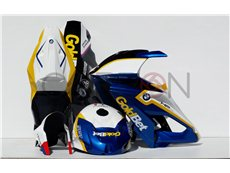 Kit Carena Completa Racing Replica Goldbet Blu BMW S 1000 RR 2015-2016