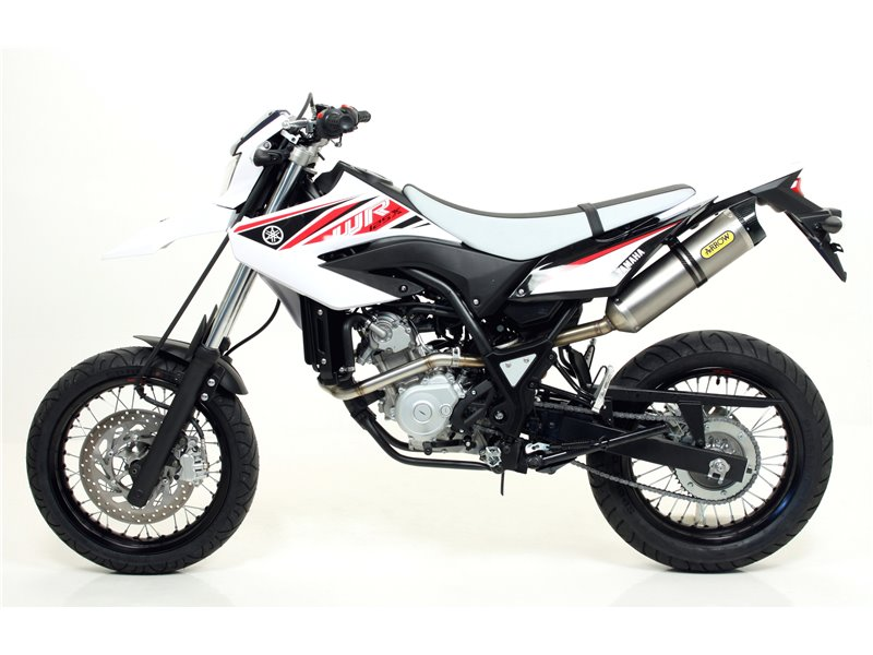 racing collector yamaha wr 125 r x 2009 2016 arrow 52003mi. Black Bedroom Furniture Sets. Home Design Ideas