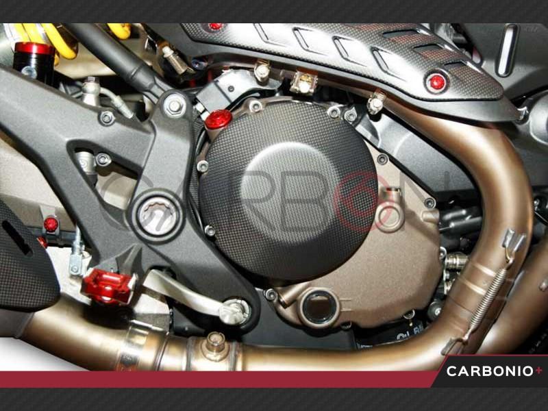 Cover carter frizione carbonio autoclave Ducati Monster 1200