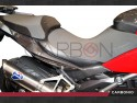 Coppia fianchetti laterali sottosella fibra carbonio Ducati Multistrada 1200-1200s