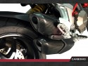 Coppia copertire scarico fibra carbonio Ducati Multistrada 1200