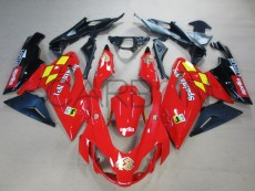 Carena Completa Stradale Abs Replica Fortuna Aprilia Rs 125 2006-2011