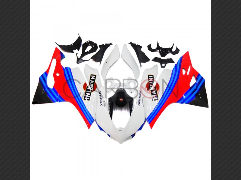 Carena Completa Stradale Abs Replica Martini Ducati 1199