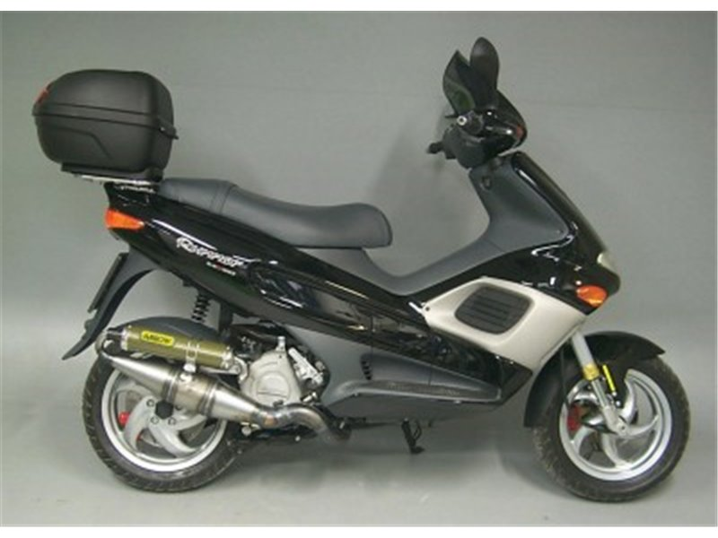 racing scooter maxi exhaust gilera runner 180 sp fxr 1998. Black Bedroom Furniture Sets. Home Design Ideas