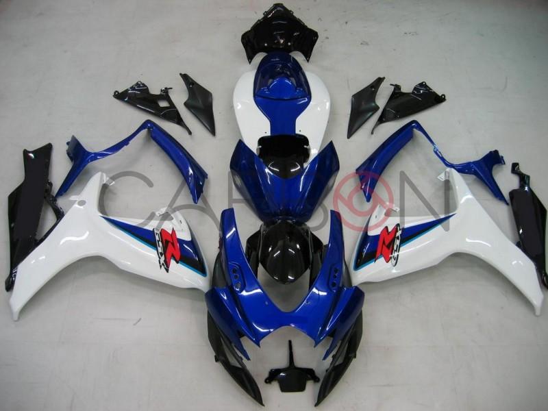 Carena Completa Stradale Abs Blu Suzuki Gsx-r 600/750 2006-2007