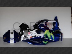 Kit Carena Completa Racing Replica Motogp 2016 Yamaha YZF-R1 2015-2016 / M