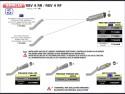 Race-Tech Approved titanium silencer with carby end cap Aprilia RSV 4 2009-2015 Arrow 71744PK