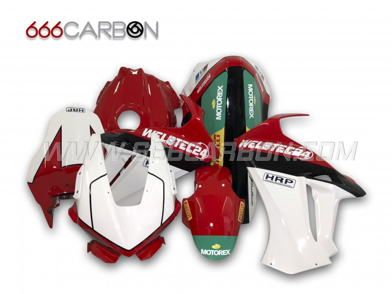 Complete Fairing Kit Racing painted design 4 Honda CBR 1000 RR 2017-2018