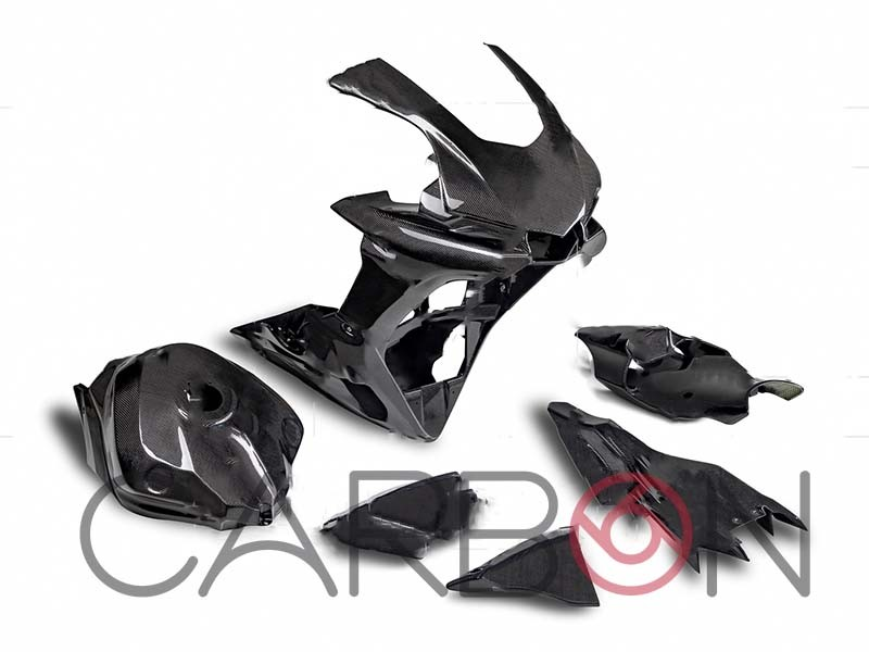 Carbon fiber complete racing fairings kit Yamaha YZF-R1 2015-2019