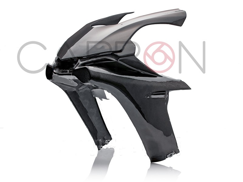 Carbon fiber racing upper fairing Yamaha YZF-R1 2015-2019