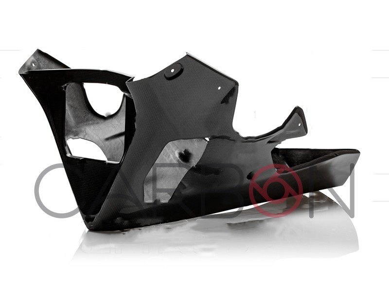 Carbon fiber racing belly pan Yamaha YZF-R1 2015-2019