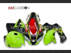 Kit Carena Completa Racing Replica Sbk Kawasaki ZX-10 R 2016-2019