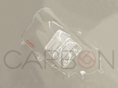 Plexiglas double bubble transparent F.Fabbri Yamaha R6 2017-2019