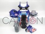 Complete fairing kit Racing pata Blu Yamaha YZF-R1 2015-2019 / M