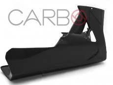Carbon fiber racing belly pan Aprilia RSV4 2009-2014