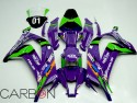 Full Replica Fairing Abs n1 Sbk Kasasaki Zx-10r 2016-2019