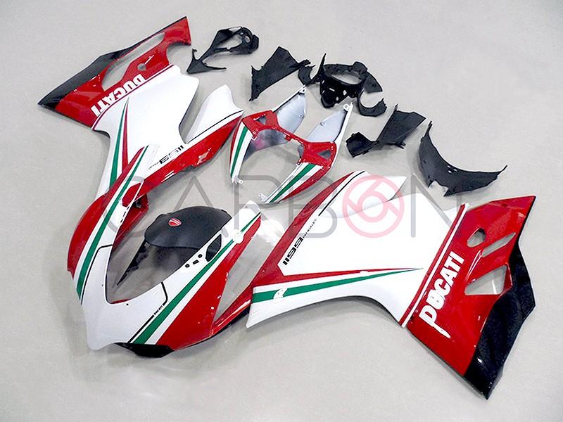 Carena Completa Stradale Abs Replica Tricolore Ducati 1199