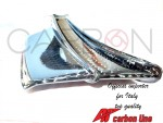 Aerodynamic fins Carbon Ducati Panigale V4 twill new lines texture