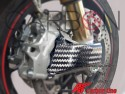 Ducati Panigale V4 brake air convectors twill new design texture