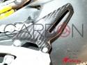 Paratacco pedana SX fibra carbonio Ducati Streetfighter