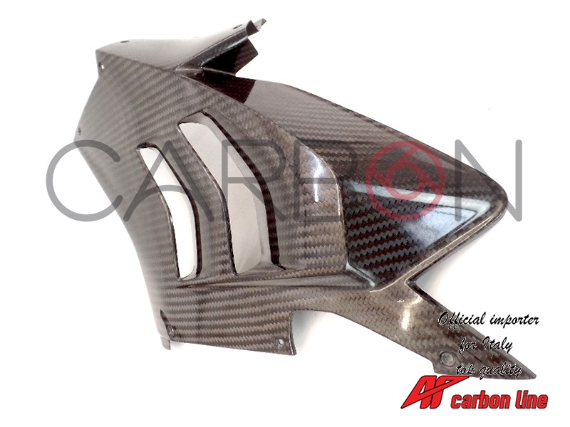 left side racing fairing Carbon grain 400 twill Autoclave Ducati Panigale V4 r