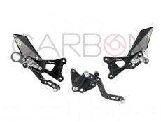 fixed footrest lightec bmw s1000r (14-16)-rr-hp4(09-14)