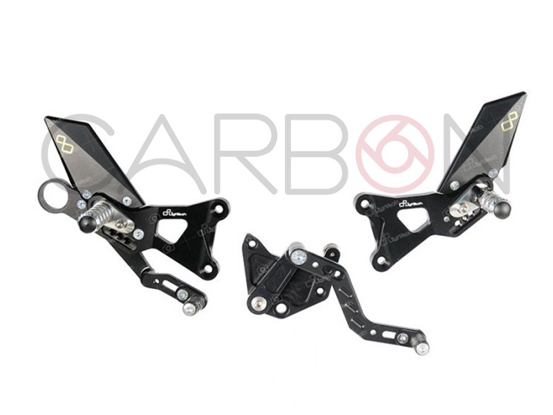 articulated footrest lightec bmw s1000r (17-18)-rr-hp4(15-18)