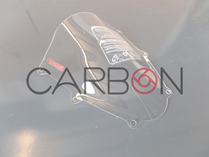 Plexiglas double bubble transparent F.Fabbri APRILIA RSV4 2015-2019