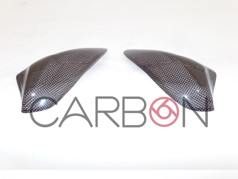Carbon fiber tank protectors Triumph Daytona 675 2013-2017