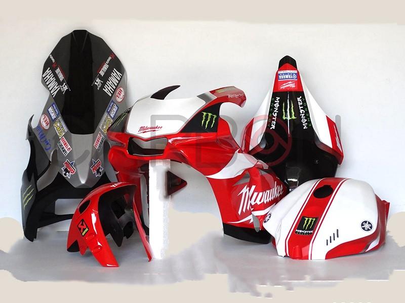 Kit Carena Completa Racing Replica Milwuakee Rossa Yamaha YZF-R1 2015-2016 / M