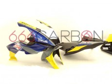 Complete fairing kit aviofibra racing replica bardahl yamaha Yzf R6 2017-2021