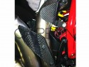 Reposapiés en el talón Reposapiés derecho fibra de carbono Ducati STREETFIGHTER - STREETFIGHTER S - STREETFIGHTER 848