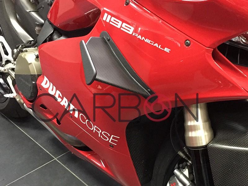 Ducati Panigale V4 Carbon Aerodynamic fins