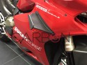 Aerodynamic fins Carbon plain 200 frame (ducati performance frame) Ducati Panigale 1199