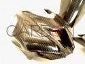 Carbon fiber racing windscreen Autoclave Kawasaki ZX-10 RR 2016-2020