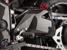 Carbon fiber swingarm protector Triumph Speed Triple 1050 2012-2016