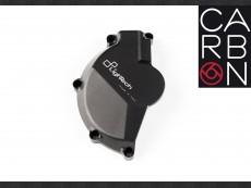 Left Side Alternator Cover Aluminum Guard - ECPBM001NER / Matt black