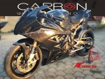 Complete carbon fairing bmw s1000rr 2020 twill 400 texture