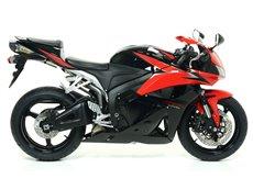 "Sistema completo COMPETITION ""EVO"" con dBKiller con fondo en carbono Honda CBR 600 RR 2009-2012"