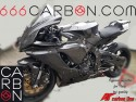 Complete carbon fairing yamaha r1 2020 twill 200 texture